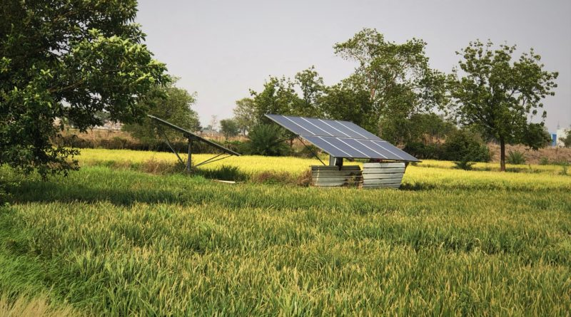 Off-Grid Solar Water Pump